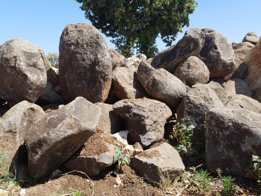 סלעי בזלת , סלעים לגינה
